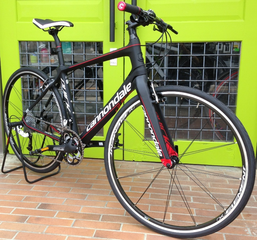 My Bikes vol.017 cannondale QUICK CARBON 2