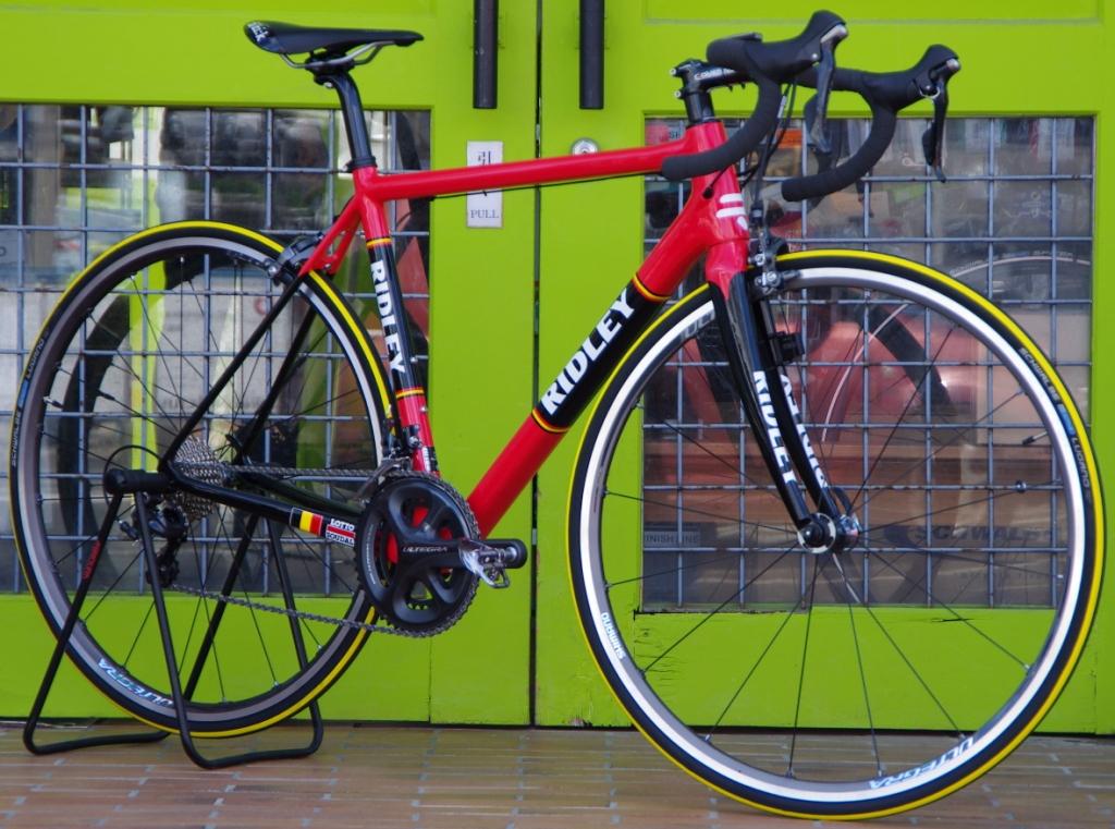 My Bikes vol.095 RIDLEY HELIUM ULTEGRA