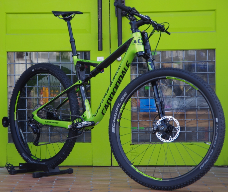 My Bikes vol.097 cannondale Scalpel Si Carbon