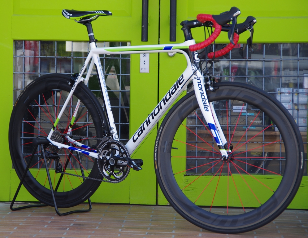 My Bikes vol.056 cannondale SuperSix Evo+F6R