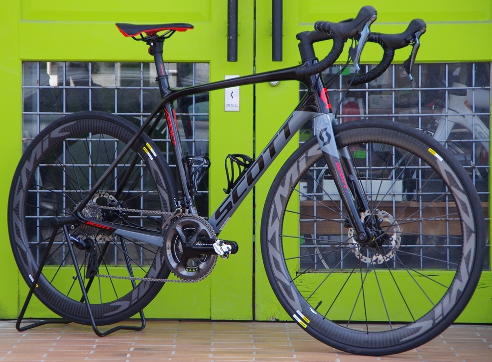 My Bikes vol.122 SCOTT ADDICT 20 DISC×DURA-ACE9100