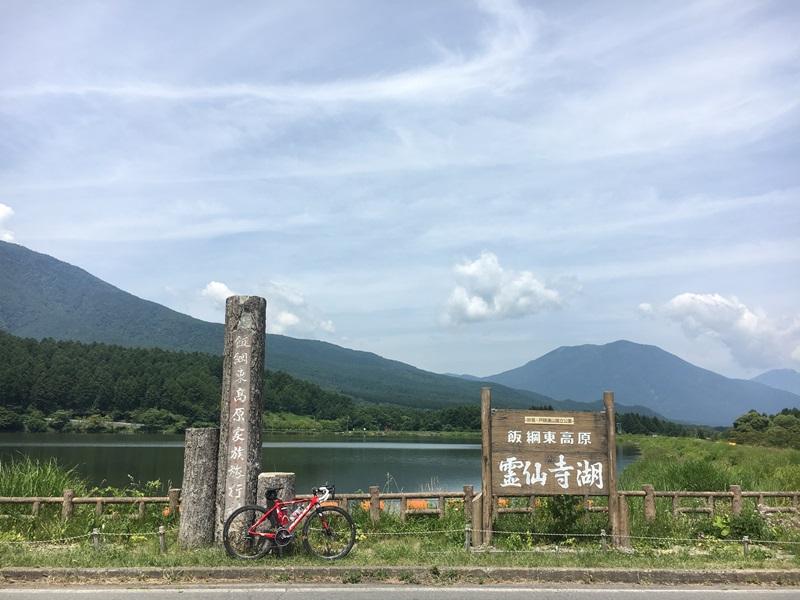 サマーソロライド 2018 vol.06 霊仙寺湖 周回(のみ)