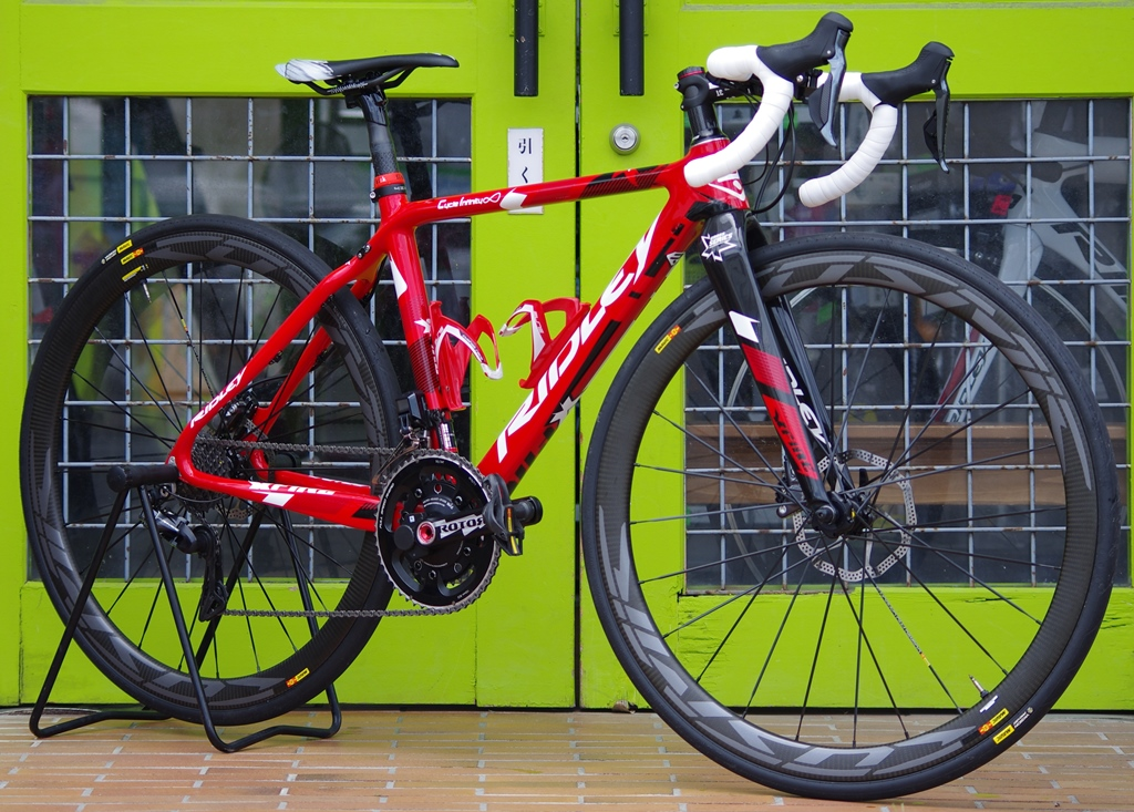 My Bikes vol.060-4 RIDLEY X-FIRE R9150 Di2+RS785