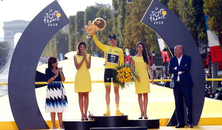 ゲラント・トーマス 祝☆2018 ツール・ド・フランス個人総合優勝!