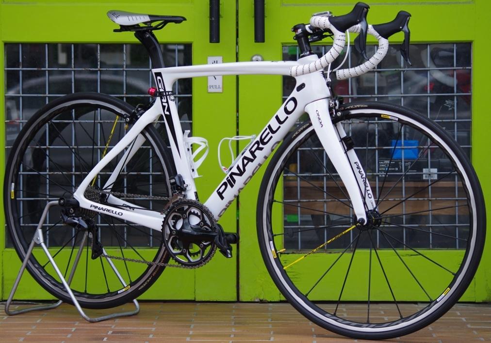 My Bikes vol.125 PINARELLO GAN R8050 Di2