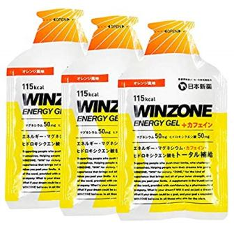WINZONE ENERGY GEL オレンジ風味 - 1