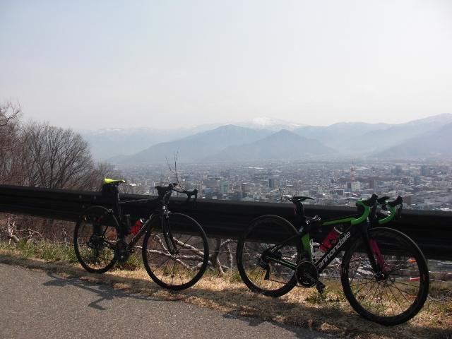 スプリング サシライド 2019 vol.04 茶臼山(表裏)+朝日山