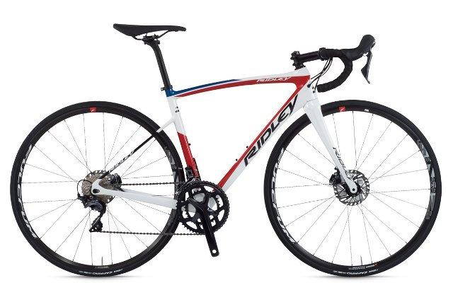 RIDLEY FENIX SL DISC COMPLETE BIKE D718As