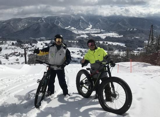 SRP vol.043 雪ちゃりパーク in 戸狩温泉スキー場 2020